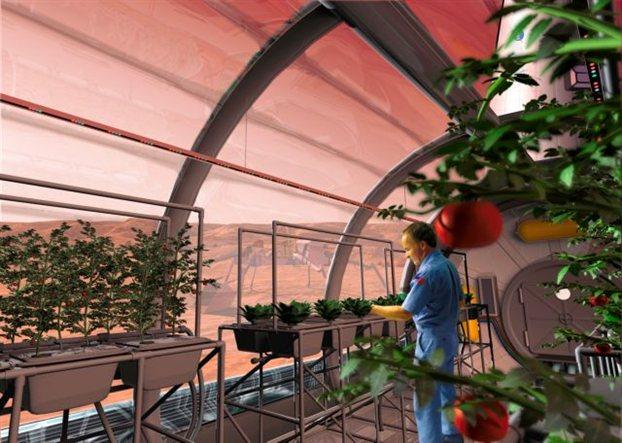 Αστροναύτες «γεωργοί» θα ταξιδέψουν στον Άρη